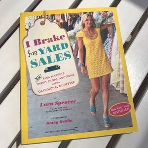I Brake for Yard Sales - Book, great condition